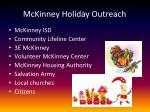 mckinney holiday outreach