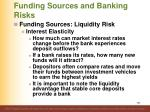 funding sources and banking risks2