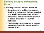 funding sources and banking risks3