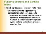 funding sources and banking risks4