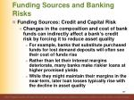 funding sources and banking risks5