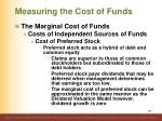 measuring the cost of funds11