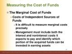 measuring the cost of funds2