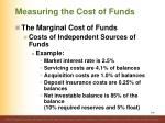 measuring the cost of funds4