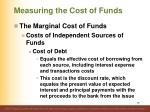 measuring the cost of funds6