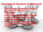 international students in melbourne
