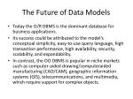 the future of data models