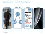 higher investment strong uc product pipeline
