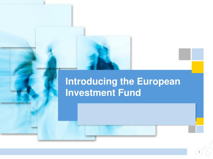 introducing the european investment fund n.
