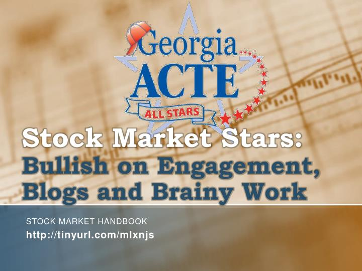 stock market stars bullish on engagement blogs and brainy work n.