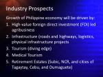 industry prospects