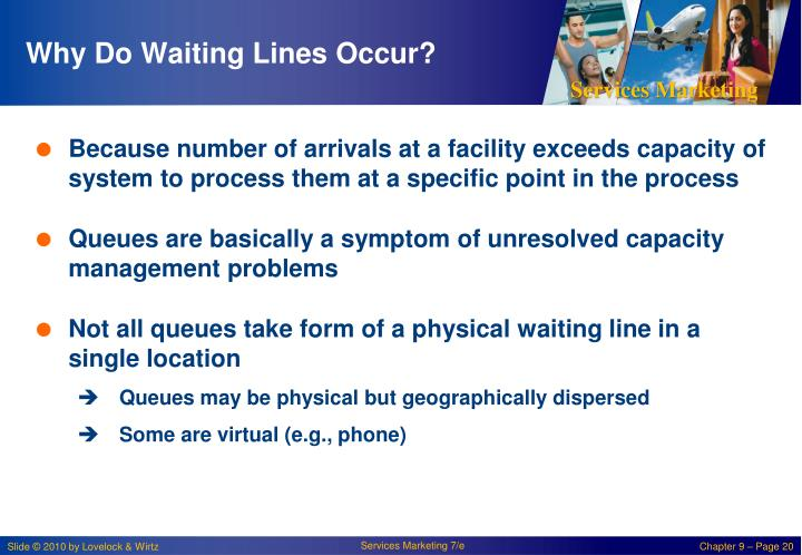 Why Do Waiting Lines Occur?
