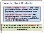 preferred stock dividends