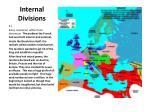 internal divisions