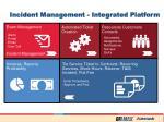 incident management integrated platform