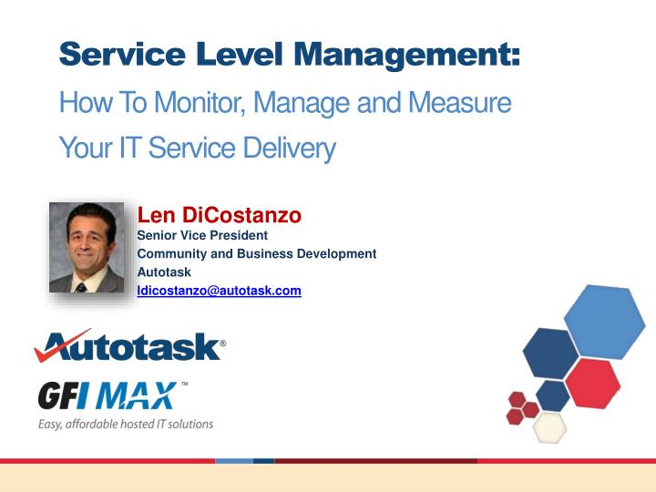 service level management how to monitor manage and measure your it service delivery n.