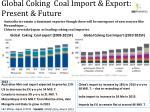 global coking coal import export present future