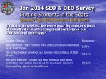 putting students in the seats question topic effectiveness of boat shows