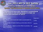 putting students in the seats question topic effectiveness of squadron promo efforts