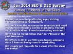 putting students in the seats question topic effectiveness of squadron promo efforts1