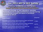 putting students in the seats question topic members taking advanced grades electives