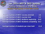 putting students in the seats question topic quantity of 2013 abc3 courses