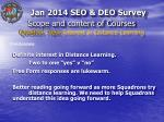 scope and content of courses question topic interest in distance learning4