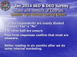 scope and content of courses question topic mariners learning system2