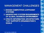 management challenges1