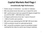 capital markets red flags i unrealistically high performance