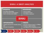binnj a swot analysis