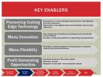 key enablers
