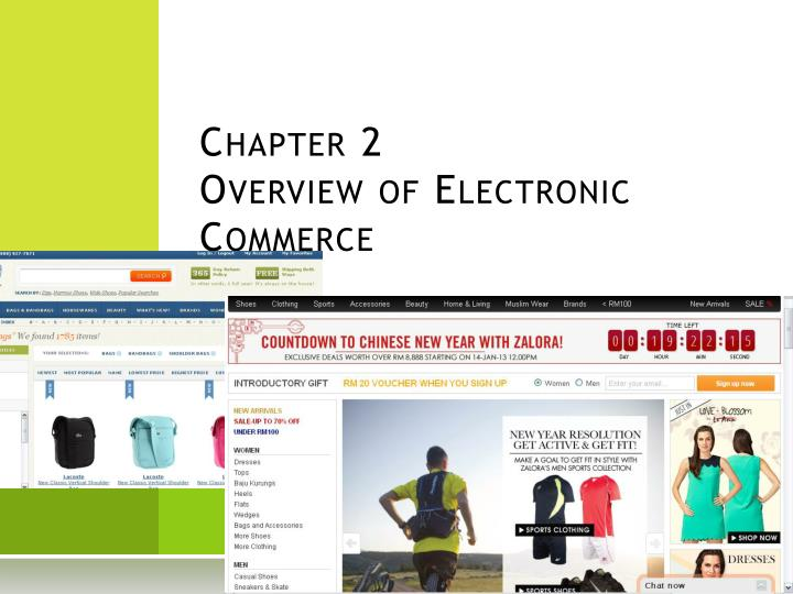 chapter 2 overview of electronic commerce n.