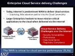 enterprise cloud service delivery challenges