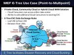 mef e tree use case point to multipoint