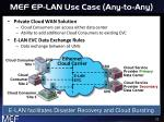 mef ep lan use case any to any