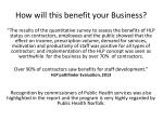 how will this benefit your business