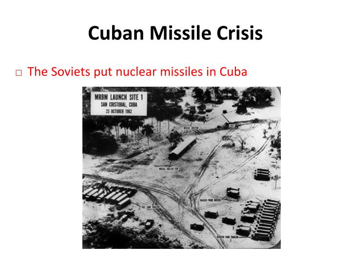 the major reasons for the cuban missile crisis The cuban missile crisis was precipitated by a soviet attempt in october 1962 to install medium-range and intermediate-range nuclear-armed ballistic missiles in cuba that were capable of hitting a large portion of the united states.
