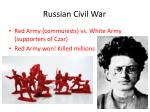 russian civil war