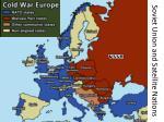 soviet union and satellite nations