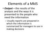 elements of a mkis3