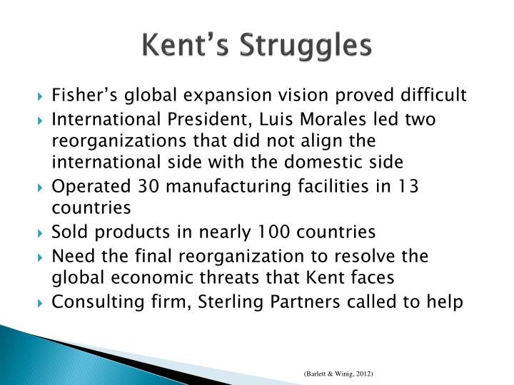 Kent s struggles