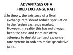 advantages of a fixed exchange rate2