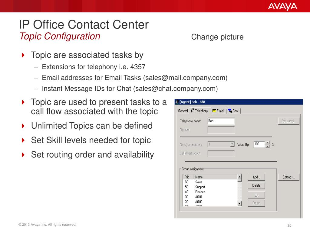 PPT - IP Office Contact Center PowerPoint Presentation - ID