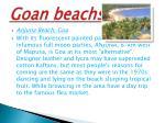 goan beachs