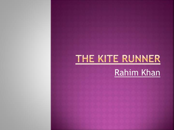 the kite runner n.