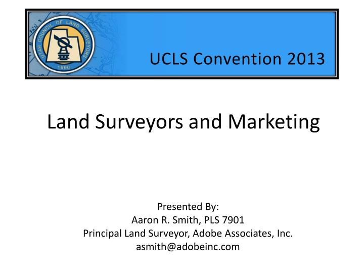 land surveyors and marketing n.