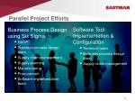 parallel project efforts