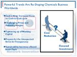 powerful trends are re shaping chemicals business worldwide