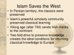 islam saves the west